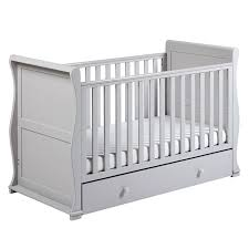 Sleigh Cot Bed Alaska Sleigh Cot Bed With Drawer Grey Joseph