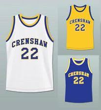 quincy mccall crenshaw 22 love and basketball movie jersey