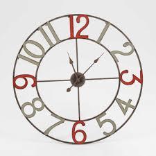 pendule murale cuisine enchanteur horloge murale grise et 2017 avec pendule murale cuisine