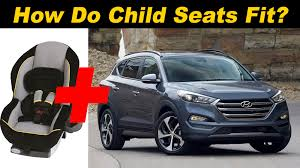 hyundai santa fe 3 child seats 2016 hyundai tucson child seat review