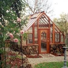Backyard Greenhouse Ideas 12 X 18 Tudor Greenhouse In California With Custom Base