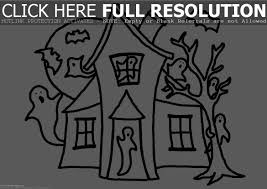 house halloween coloring pages u2013 halloween wizard