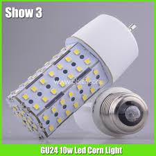 gu24 base led light bulb gu24 base 10w led corn light bulb supply high quality 360 deg small