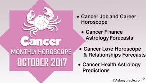 2017 horoscope predictions cancer monthly horoscope for october 2017 cancer 2017 astrology