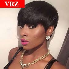 from pixie cut to bob with extensions cheap human hair wigs for black women short pixie cut brazilian hair