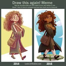 Hermione Granger Memes - artstation hermione granger louhi art