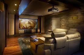 Modern Media Room Ideas - great ideas for movie room décor u2014 unique hardscape design