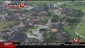 Map Of Tulsa Major Damage At Least One Fatality Reported After Tornado Hits