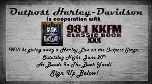 Bands In The Backyard by Bands In The Backyard Form Outpost Harley Davidson Pueblo