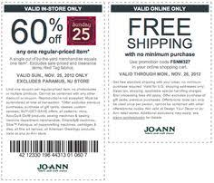 joanns coupon app pinned september 19th 20 at kohls or online via promocode