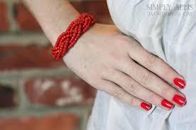 make bracelet from beads images Diy bracelet made from braided beads simply allis jpg