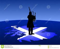 scottish man playing bagpipes stock image image 2832331