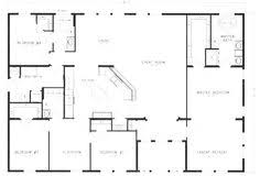 simple open house plans ranch house floor plans bedroom love this simple no watered jmypros