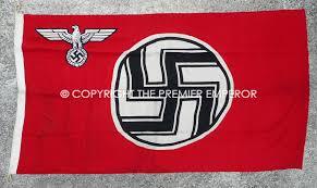 German Flag 1940 German Reich Dienst Flag Reich Service Flag Circa 1939 45