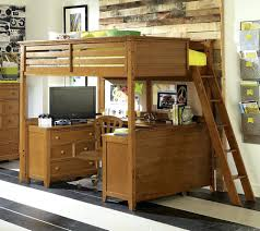 Bunk Bed With Dresser Dressers Loft Bed With Dresser Underneath Plans Heres A Pine L