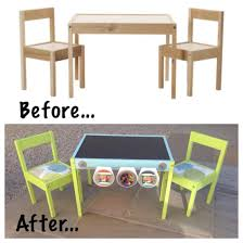 Ikea Childrens Picnic Table by Ikea Hack For The Children U0027s Latt Table And Chairs My First Ikea