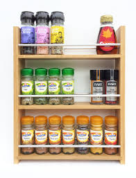 kitchen spice rack herb racks diy magnetic spice rack