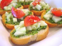 food canapes cilantro canapes recipe genius kitchen