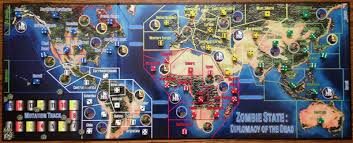 Central America Map Game by Review Zombie State Diplomacy Of The Dead
