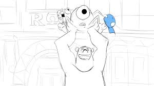 sketches to scares an exclusive first look at monsters university