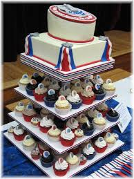 eagle scout cake topper cupcake tower with cake topper each cupcake is topped with the