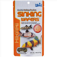 hikari sinking wafers review sinking wafers 110g for loach catfish and l numbers