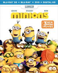 minions dvd release december 8 2015