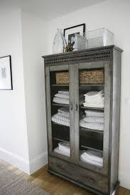 Bathroom Cabinets  Linen Storage Bathroom Storage Cabinet Oak - Bathroom linen storage cabinets