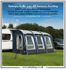 Kampa Caravan Awnings New 2015 Model Kampa Rally All Season Heavy Duty Large 390 Caravan