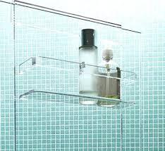 Bathroom Shower Storage Ideas Shelves For Shower Corner Shelf Design Made From Applicable