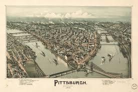 Pittsburgh Pa Map Pittsburgh Pennsylvania 1902 World Digital Library