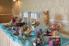 baby shower candy table for bathroom purple and white wedding candy buffet ideas table