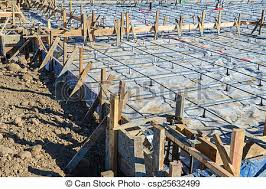 new home foundation new home foundation construction site stock photographs search
