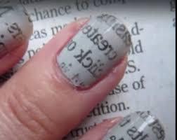 newspaper print nail art designs perfectly 9 easy steps tutorial