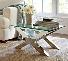 Glass Accent Table Accent Table Pottery Barn