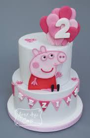 peppa pig birthday cakes peppa pig cake hill cakes