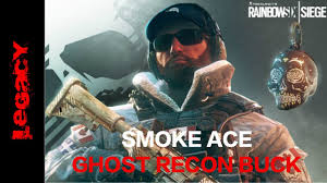 ghost recon buck gameplay smoke ace funny final kill rainbow