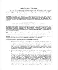 free iowa residential lease agreement form u2013 pdf templatenet lease