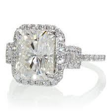 Cushion Cut Halo Diamond Engagement Ring In Platinum Best 25 Radiant Cut Ideas On Pinterest Radiant Cut Engagement