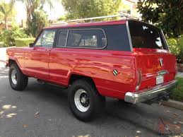 chief jeep color beautiful 1975 fsj jeep cherokee wagoneer pinterest