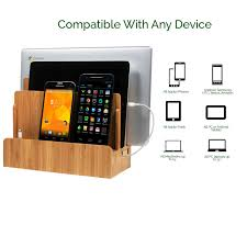 amazon com g u multi device charging station dock u0026 organizer