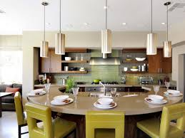 Round Kitchen Island Designs Curvy Kitchen For Entertaining Breakfast Bars Hgtv And Kitchens
