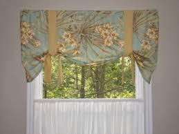 window valance tie up valance window treatment magnolia