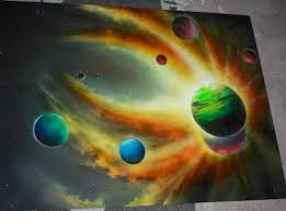 Spray Paint Artist - this artist doesn u0027t use just paint to create his art you u0027ll never