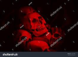 halloween decoration old dirty zombie plastic stock photo