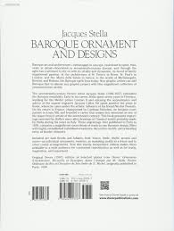 baroque ornament and designs dover pictorial archive