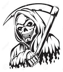 vintage halloween clipart black and white 2 514 grim reaper stock illustrations cliparts and royalty free