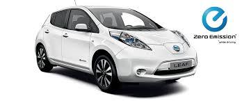 nissan caravan side view nissan leaf electric car hatchback nissan