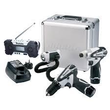 makita lct305w mr051w 10 8v lxt li ion cordless kit with radio
