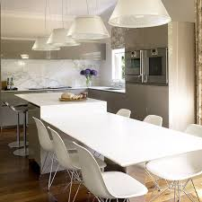 ilot cuisine pour manger code cuisine îlot central table à manger 2 en 1 pour optimiser l